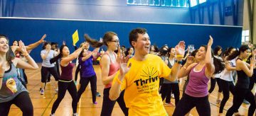 UBC's Largest Zumba – Let Zumba Be Your Stress Reliever!