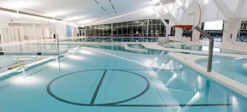 Jessica Deglau Swim Meet