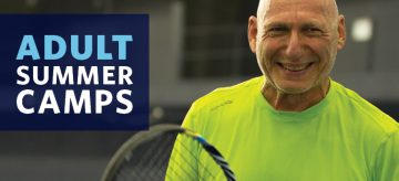 Adult Tennis Summer Camps