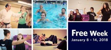 Free Week | January 8-14, 2018