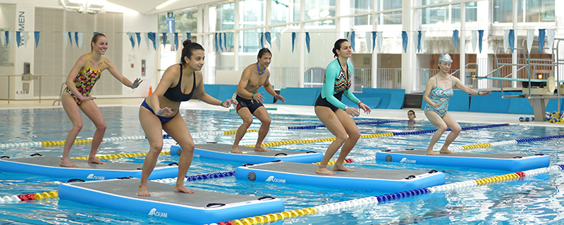 HydroBoard Fitness Classes at the UBC Aquatic Centre