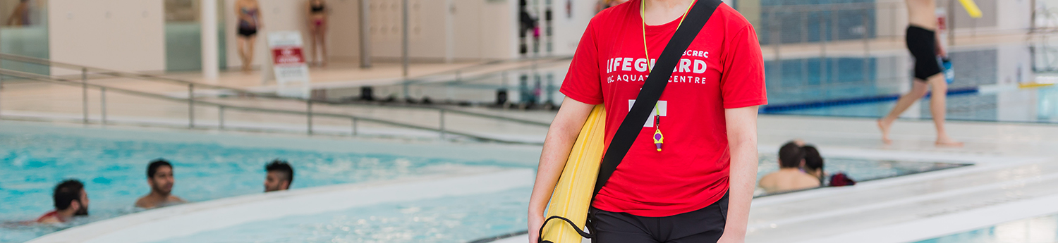 National Lifeguard Certifications at the UBC Aquatic Centre