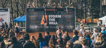 Swim, sprint, bike, run & STORM THE WALL!