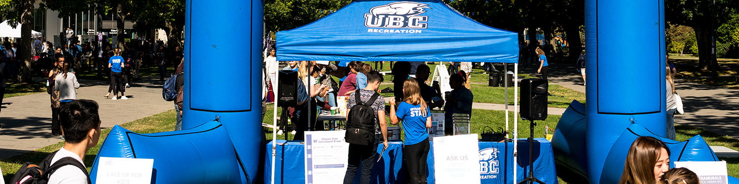 Promo Booth | UBC Recreation
