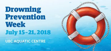 Drowning Prevention Week: July 15 – 21, 2018