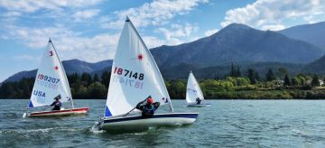 One Month, Two National Qualifiers | UBC TSC Sailing Starts the Year off Strong