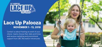 Lace Up Palooza Events 2018