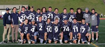 A Season of Firsts Continues for UBC Lacrosse