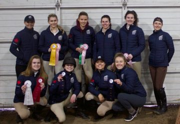 TSC Equestrian's ribbon haul from their first competition of 2019.