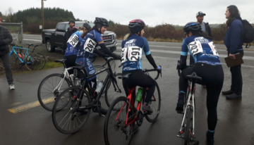 UBC TSC Cycling First in Conference After Two Race Weekends