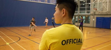 What are the sweet perks of being a UBC Recreation Intramurals Official?