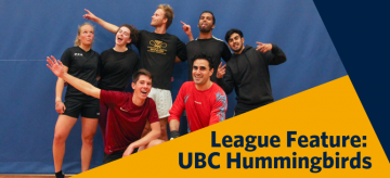 League Feature of the Week: UBC Hummingbirds