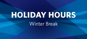 Winter Break Facility Hours