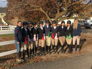 A successful start to the TSC Equestrian's season at Washington State University show