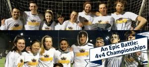 An Epic Battle: 4v4 Soccer Term 1 Playoffs