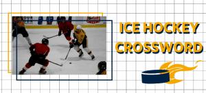 Crossword Game with Ice Hockey