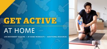 Get Active At Home – Bringing Movement to You