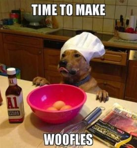 Let's make woofles