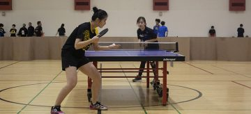 UBC Thunderbirds Sport Clubs welcomes Table Tennis