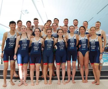 "UBC TSC Triathletes ""Tri"" their best and ""Du"" succeed at UBC TriDu 2020"