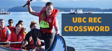 CROSSWORD: How well do you know UBC Rec?
