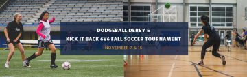 Kick It Back with Fall Soccer & Dodgeball Tournaments!