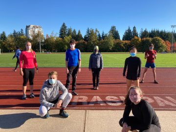 The UBC TSC Nordic Ski Club is Back. Back to practice.