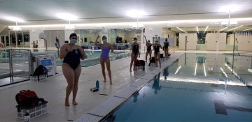 UBC TSC Artistic Swimming Back to Training!