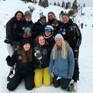 UBC Women at Regionals (2020) having just placed 3rd overall.