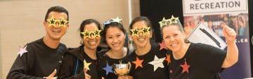 Volunteer for Staff & Faculty Sports Week