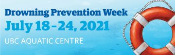 Drowning Prevention Week: July 18 – 24, 2021