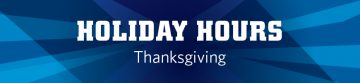 Thanksgiving Facility Hours