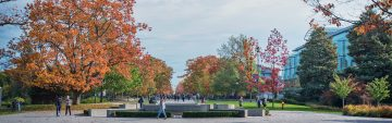 5 Best Places for Fall Photos on Campus